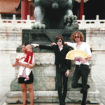 Julien and Sam in The Forbidden City.