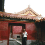 Red walls in The Forbidden City.