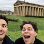 In front of the replica of the Parthenon in Nashville. Why did they make this. Nashville, spill the tea!