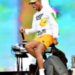 SAN FRANCISCO, CA - AUGUST 10:  Pharrell Williams of N.E.R.D performs on the Lands End Stage during the 2018 Outside Lands Music And Arts Festival at Golden Gate Park on August 10, 2018 in San Francisco, California.  (Photo by Jeff Kravitz/FilmMagic) *** Local Caption *** Pharrell Williams