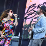SAN FRANCISCO, CA - AUGUST 11: Ariel Engle (L) and Kevin Drew of Broken Social Scene perform on the Lands End Stage during the 2018 Outside Lands Music And Arts Festival at Golden Gate Park on August 11, 2018 in San Francisco, California.  (Photo by Jeff Kravitz/FilmMagic) *** Local Caption *** Kevin Drew;Ariel Engle