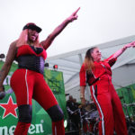 SAN FRANCISCO, CA - AUGUST 12: Salt-N-Pepa perform at The House By Heineken during the 2018 Outside Lands Music And Arts Festival at Golden Gate Park on August 12, 2018 in San Francisco, California.  (Photo by FilmMagic/FilmMagic) *** Local Caption *** Pepa;Sandra Denton;Salt;Cheryl James